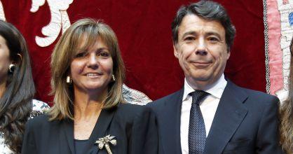Lourdes Cavero en compañia de su marido Ignacio González
