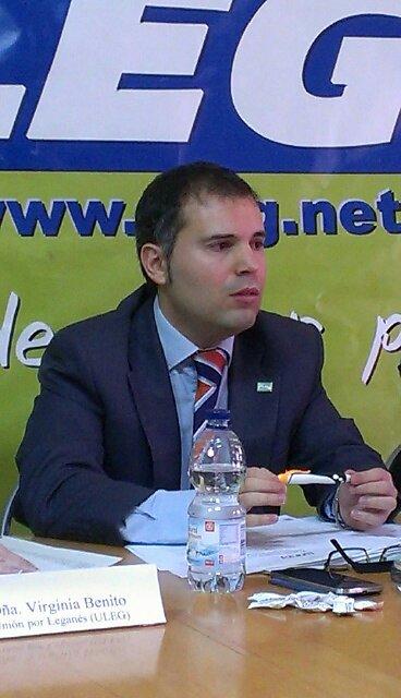 Carlos Delgado, portavoz de ULEG