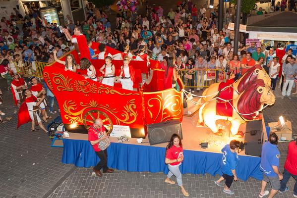 Getafe Fin De Fiesta: 300 Ppp Desfile De Carrozas Getafe 2014_ 065
