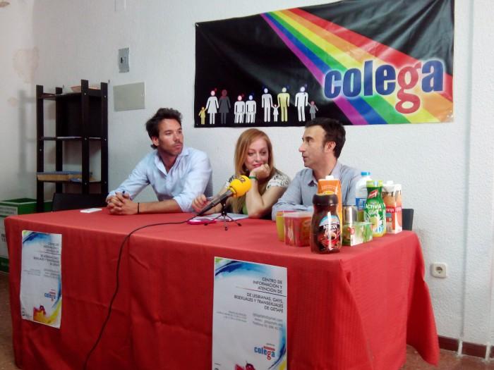 Manuel Ortiz, Carmen Pérez Anchuela y Francisco Ramírez