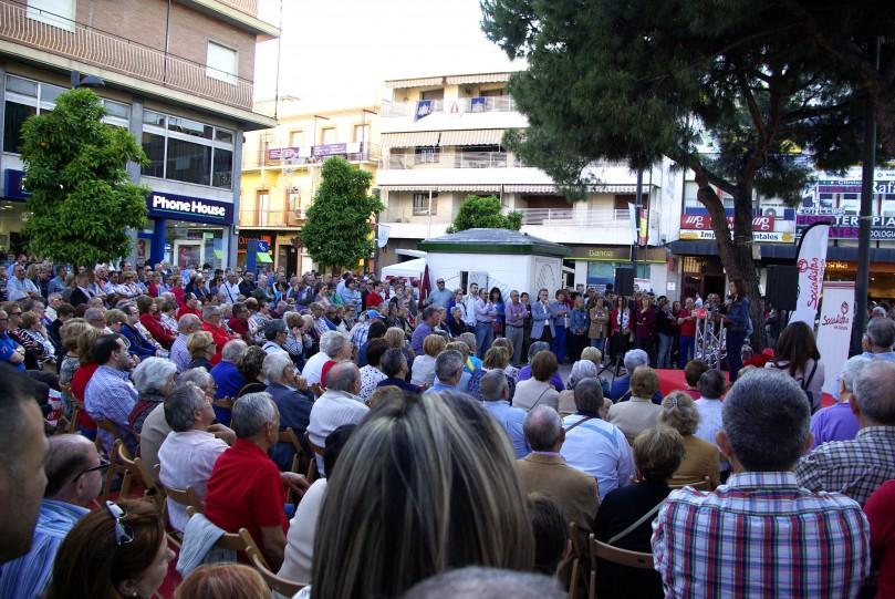 21052015_NP PSOE GETAFE_ACTO EN PLAZA GENERAL PALACIO_1