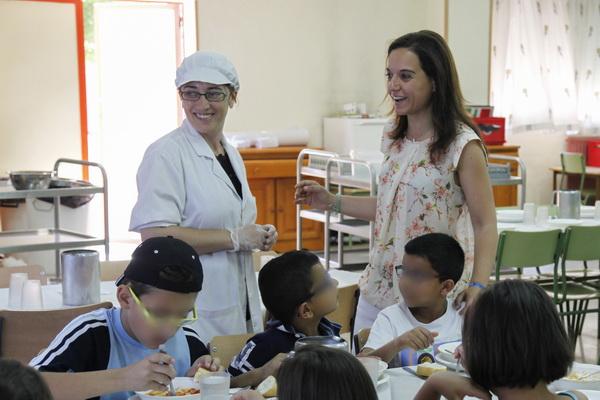 En funcionamiento los comedores escolares for Comedores en concepcion