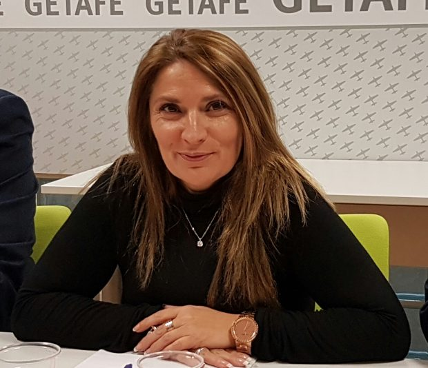 Mónica Cobo, portavoz de Ciudadanos Getafe