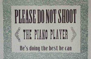 no disparen al pianista